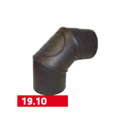 coude 0-90° + trappe
